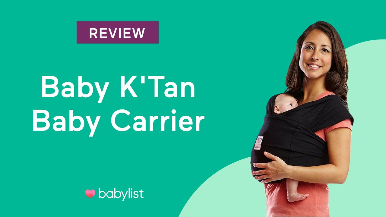 Baby K Tan Baby Carrier Review Youtube
