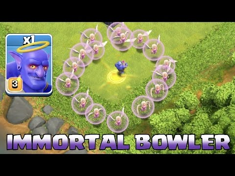 Clash of clans - IMMORTAL BOWLER 2 (Fighting TH11 w/ Bowler healers combo)