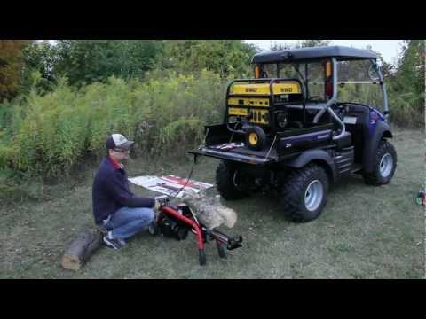 Homelite 5 ton Electric Log Splitter UT49102 - Review