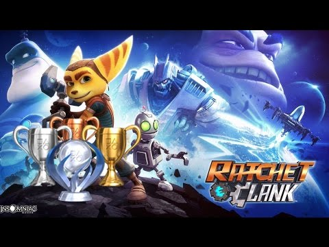 Ratchet & Clank Cha-ching! Trophy Guide EASY