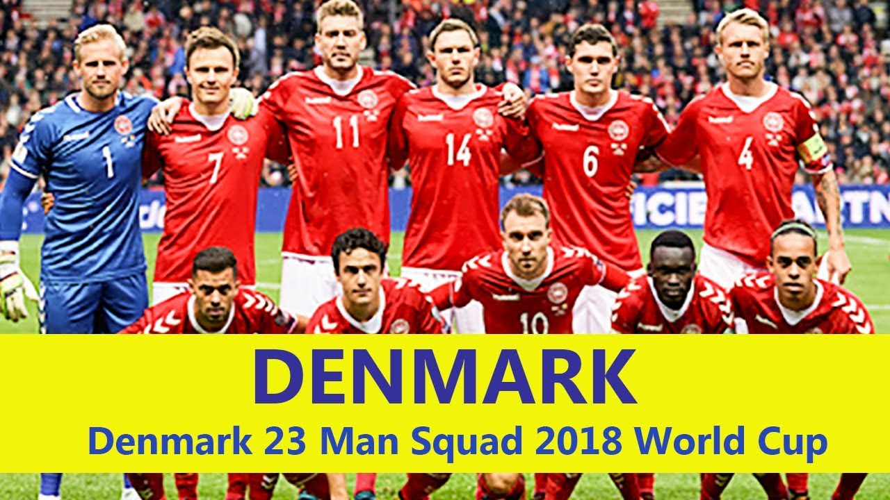 42ed200bdb4 DENMARK 23 Man Squad World Cup 2018 | Denmark Football Team 2018 Squad