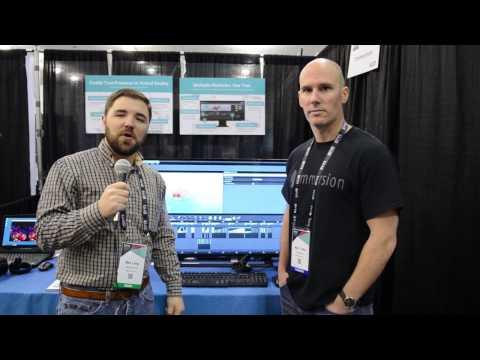 TouchSense Force Visual Haptic Programming Plugin Interview