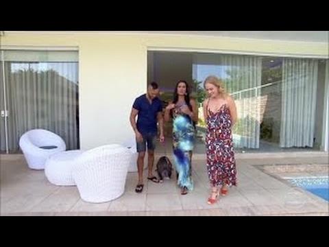 Gracyanne Barbosa e Belo abre sua Casa para Angélica no Estrelas