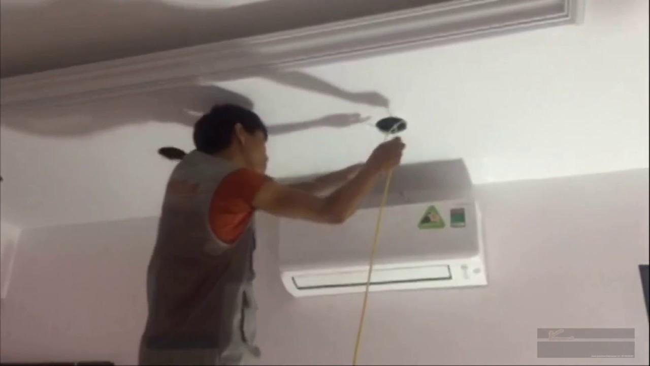 Thi công trần thạch cao (phần hệ thống đèn điện) của Vietnamarch