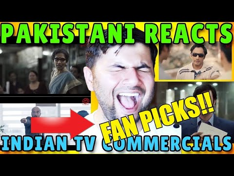 Pakistani Reacts to Top 10 Indian TV Commercials (Fans Pick)