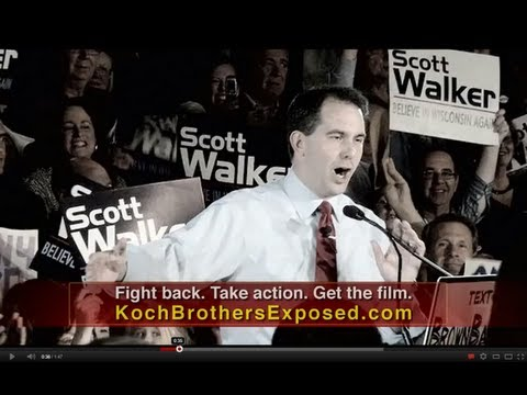 How Scott Walker Got Punked: Koch Brothers Exposed