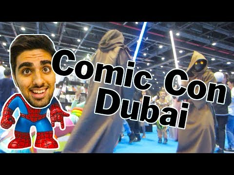 Middle East Comic Con Dubai Feat Mo Vlogs (money kicks is there too) | Vlog 241