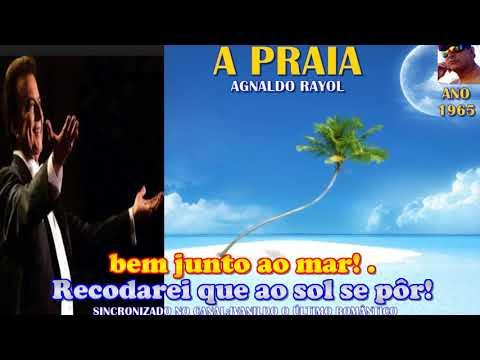 A Praia   -  Agnaldo Rayol  -  karaoke