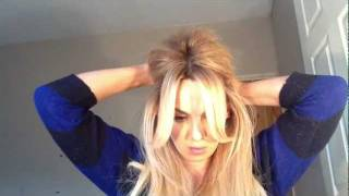 "Glamlocks.com - How To: ""brigitte Bardot"" Hair Tutorial"