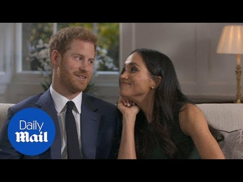 Behind the scenes: Prince Harry and Meghan Markle goof around - Daily Mail
