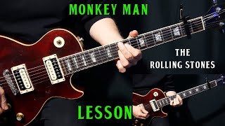 "how to play ""Monkey Man"" on guitar by The Rolling Stones 