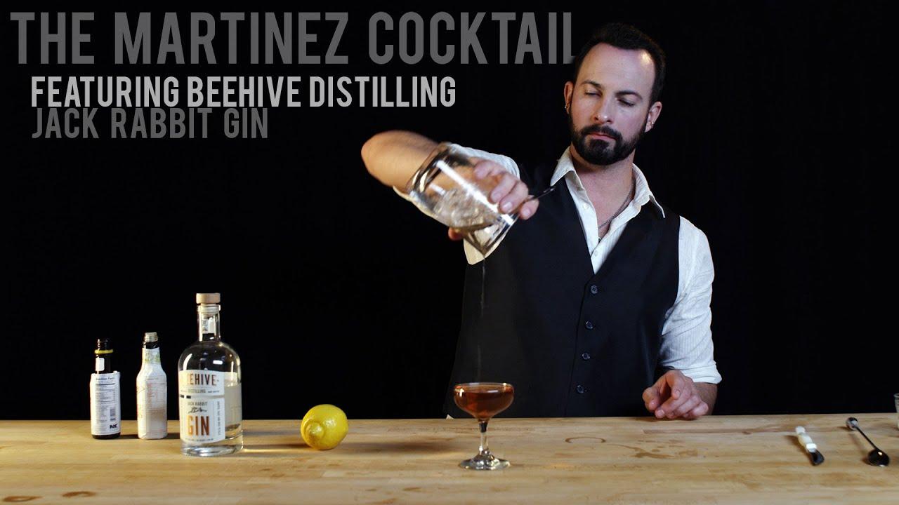 The Martinez Cocktail Recipe — Dishmaps
