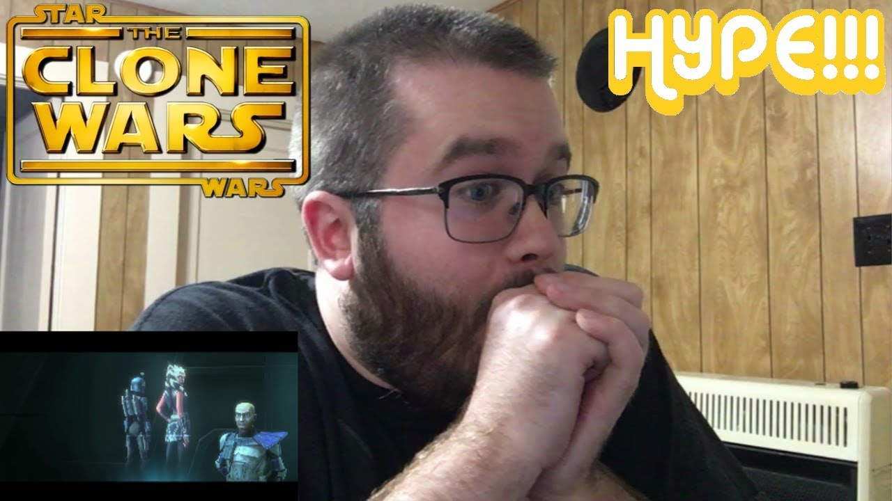 Star Wars: The Clone Wars Official Trailer Reaction!!! HYPE!!!