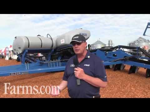 New Kinze 4900 Series Planter Introduced At the Farm Progress Show
