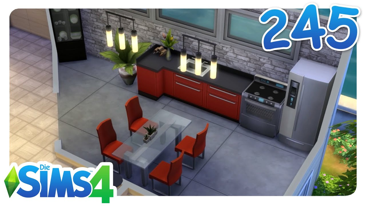 sims 4 outdoor leben ab in die k che 245 let 39 s play. Black Bedroom Furniture Sets. Home Design Ideas