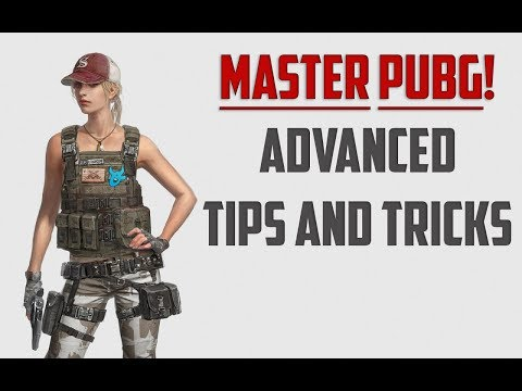 TOP 5 ADVANCED TIPS AND TRICKS TO MASTER PUBG - PLAYERUNKNOWNS BATTLEGROUNDS WTFMOSES GUIDE