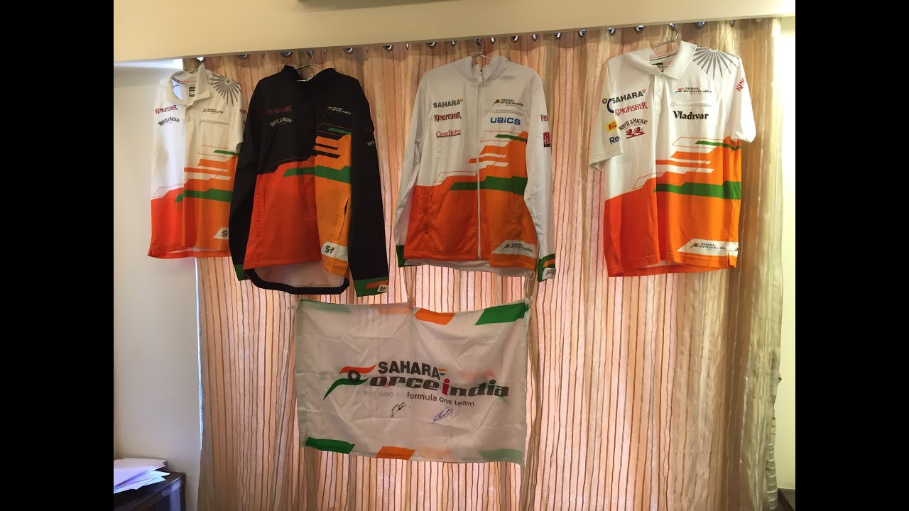Force India F1 Team collectibles