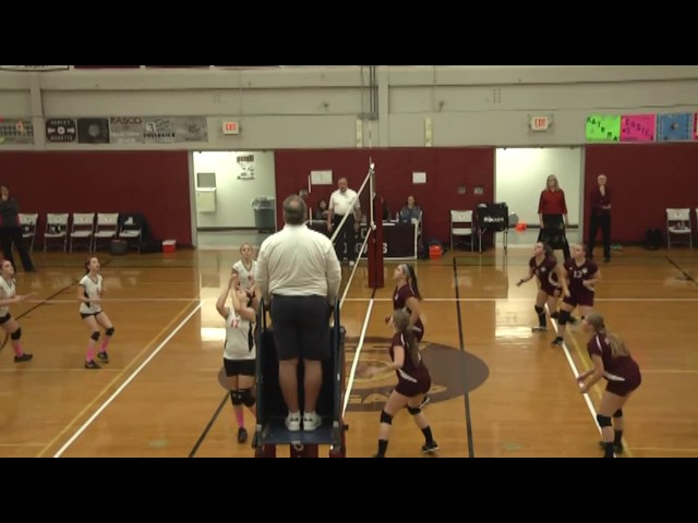 NCCS - Plattsburgh JV Volleyball  10-27-16