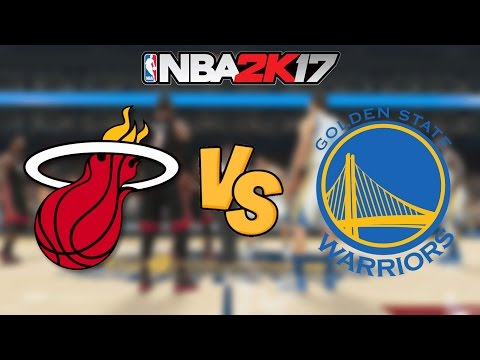 NBA 2K17 - '12-'13 Miami Heat vs. Golden State Warriors - Full Gameplay
