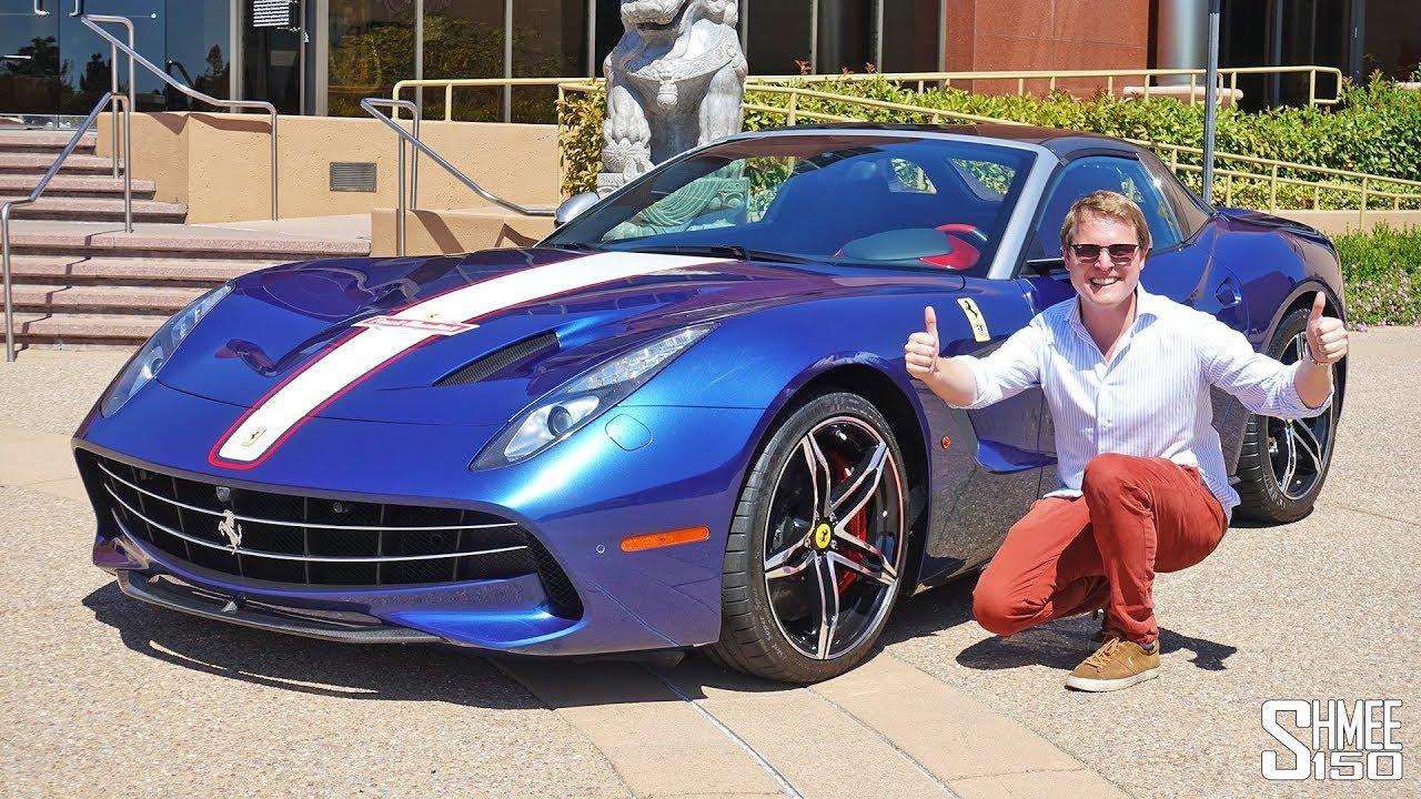 My First Drive In A 2 5m Ferrari F60 America Youtube