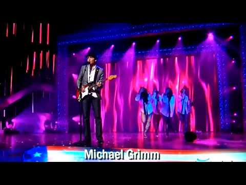 Michael Grimm - America's Got Talent 2010 - You Can Leave Your Hat On
