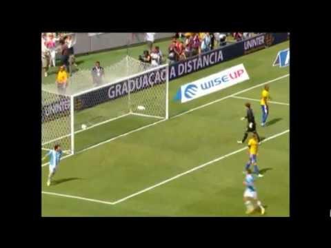 Brasil 3 X 4 Argentina Amistoso 09/06/2012