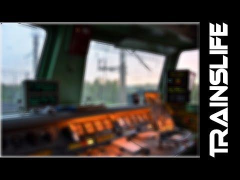 TrainsLIFE #8 - Прибытие на станцию Шахунья (ГЖД) из кабины электровоза