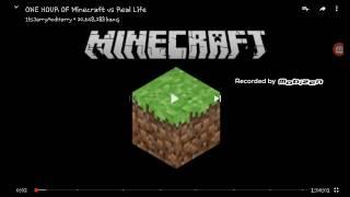 MINECRAFT VS REAL LiFE-(MINECRAFT VS GERÇEK HAYAT)