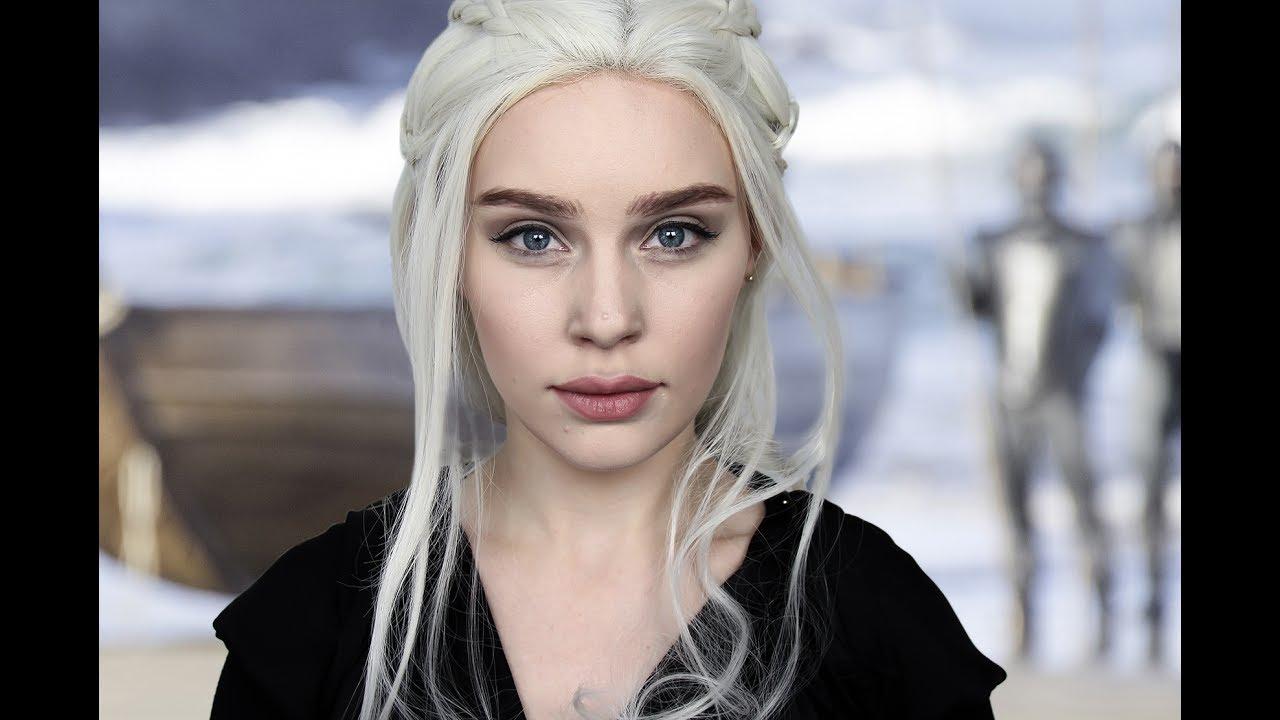 Daenerys targaryen makeup the world of make up game of thrones daenerys targaryen emilia clarke makeup baditri Images