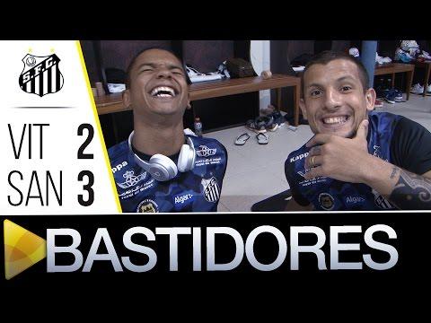 Vitória 2 x 3 Santos | BASTIDORES | Brasileirão (24/07/16)