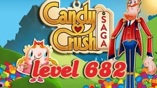 Candy Crush Saga Level 682 - ★★★