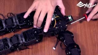 XYZrobot-Bolide_Assembly механічна 6: голову та тулуб