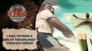 Survivor Panorama  81. Bölüm | Canlı yayında o anlar yorumlandı! 'Direkten döndü'