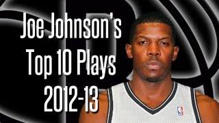 Repeat youtube video Joe Johnson's Top 10 Plays 2012-13