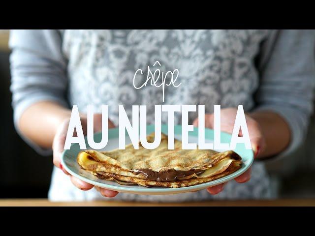 Crepe de Nutella & Bretanha | Rendez-vous à Paris 2