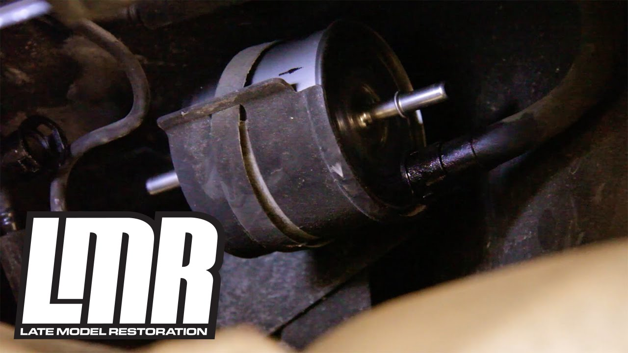 small resolution of mustang fuel filter install replacement 83 97 fg 800a late model restoration