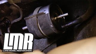 Mustang Fuel Filter Install Replacement (83-97) FG-800A - YouTubeYouTube
