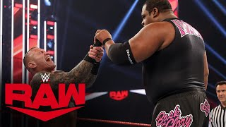 Keith Lee vs. Randy Orton: Raw, Aug. 24, 2020