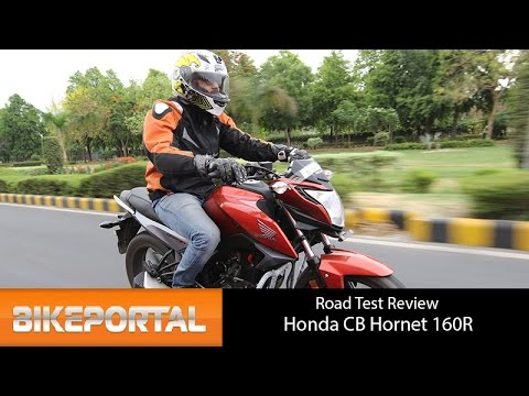 Honda CB Hornet 160R - Test Ride Review - Bikeportal
