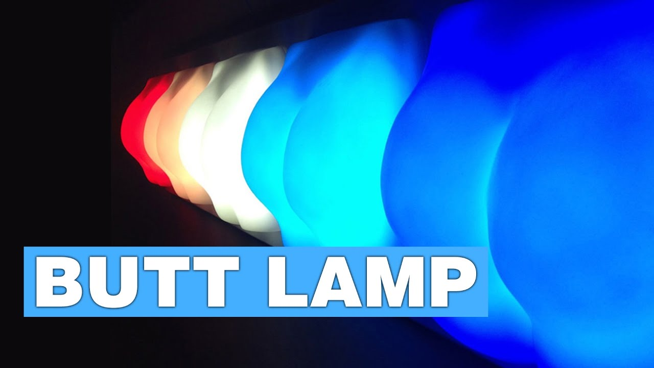 Slap Activated Butt Lamp - YouTube