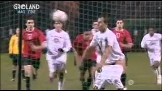 Hose-Runter-Fußball