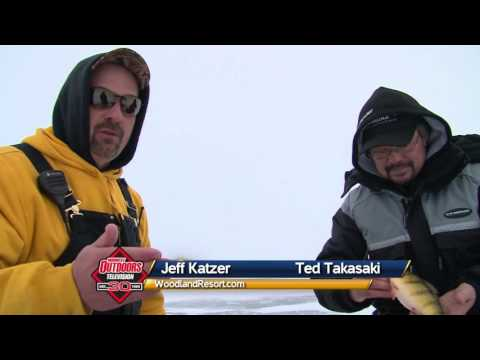 MidWest Outdoors TV #1553 - Devils Lake Ice Action At Woodland Resort