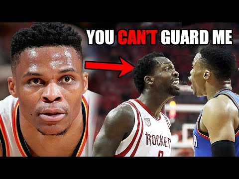 The Time Patrick Beverley TRASH TALKED Russell Westbrook And INSTANTLY Regretted It (Ft NBA Defense)