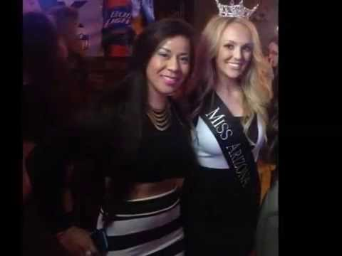 Miss Arizona & Outstanding Teen at Players and Pets Celebrity Fashion Show