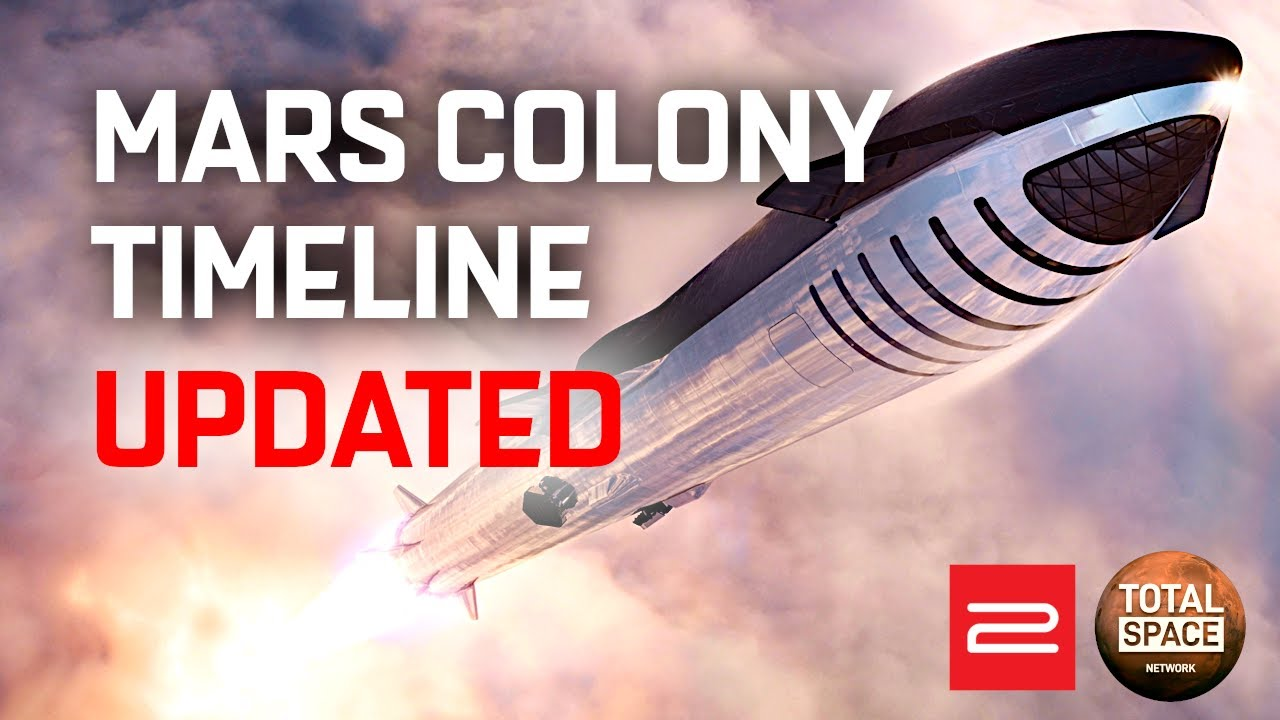 New Details on SpaceX's First Mars Colony Plan with Starship!