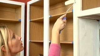 How to Paint Kitchen Cabinets - DIY Network