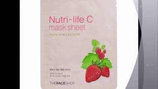 The Face Shop Nutri Life Masks.wmv Thumbnail