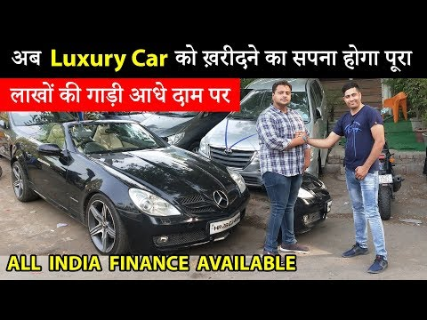 SPORTS CARS MERCEDES BENZ SLK 350 FOR SALE IN DELHI ( CAR REVIEW, PRICE, FINANCE AVAILABLE)