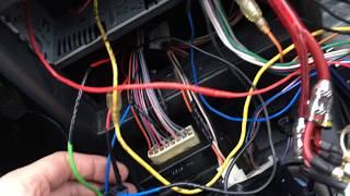 Подключение магнитолы для ВАЗ-2112 по принципу  'вставил ключ в замок, магнитола включилась'