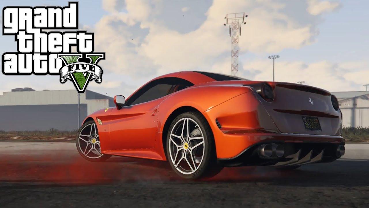 GTA 5 Mods: Ferrari California T #4 - YouTube